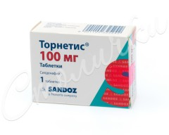 Торнетис таблетки 100мг №1
