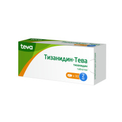 Тизанидин таблетки 2мг №30