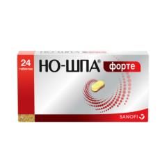 Но-шпа форте таблетки 80мг №24 купить в Москве по цене от 155.5 рублей