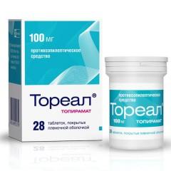 Тореал таблетки 100мг №28