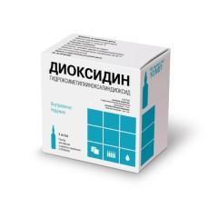 Диоксидин раствор 0,5% 10мл №10 купить в Москве по цене от 559 рублей