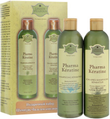 Грин Фарма набор шампунь Фармакератин+кондиционер-ополаскиватель Фармакератин