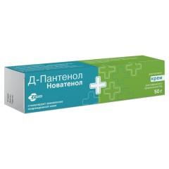 Пантенол Д Новатенол крем 5% 50г купить в Москве по цене от 432 рублей