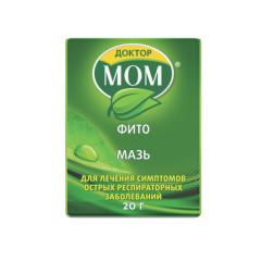 Доктор Мом мазь 20г купить в Москве по цене от 212 рублей