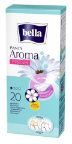Белла прокладки ежедневные панти арома фреш №20