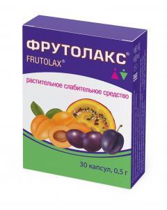 Фрутолакс капсулы №30