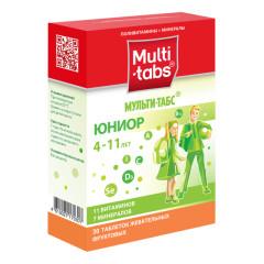 Мульти-табс Юниор Фрукты таб. жев. №30
