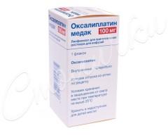 Оксалиплатин Медак лиофилизат для инфузий 100мг фл. №1