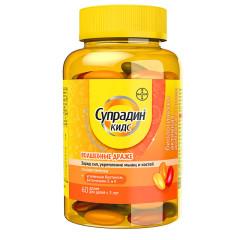 Супрадин Кидс Волшебные драже др. №60 купить в Москве по цене от 632 рублей