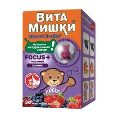 ВитаМишки ФОКУС+ жевательные пастилки №30