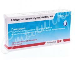 Глицерин суппозитории ректальные 2,10г №12