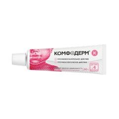 Комфодерм К крем 0,1% 30г купить в Москве по цене от 595 рублей