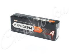 Акридерм ГК крем 30г купить в Москве по цене от 760 рублей