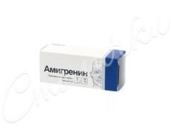 Амигренин таблетки п.о 50мг №6