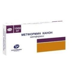 Метформин таб п.о 1000мг №60