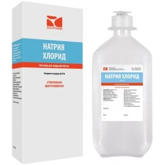 Натрия хлорид раствор для инфузий 0,9% 400мл