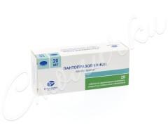 Пантопразол Канон таблетки п.о 20мг №28