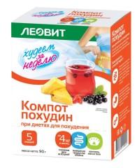 Леовит БиоСлимика Компот Похудин 18г №5