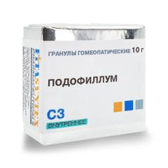 Подофиллум Пелтатум (Подофиллум) С-3 гранулы 10г купить в Москве по цене от 0 рублей