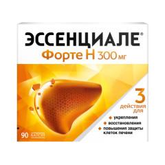 Эссенциале форте Н капсулы 300мг №90 купить в Москве по цене от 1270 рублей