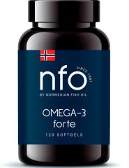 Рыбий жир Норвежский Омега-3 форте капсулы №120