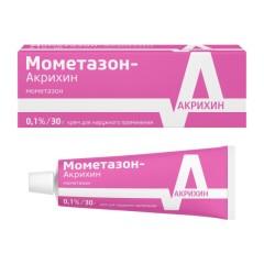 Мометазон крем 0,1% 30г купить в Москве по цене от 151.5 рублей