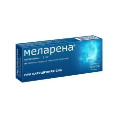 Меларена таблетки п.о. 3мг №30