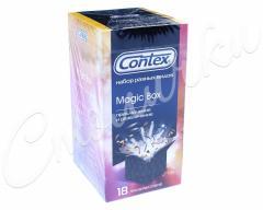 Контекс презервативы Набор Magic Box Приключение и развлечение №18