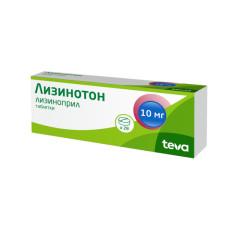 Лизинотон таблетки 10мг №28