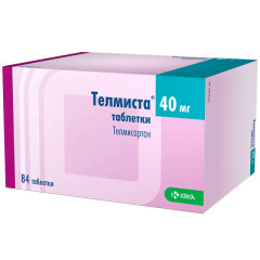 Телмиста таблетки 40мг №84