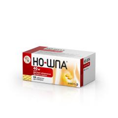 Но-шпа таблетки 40мг №64 купить в Москве по цене от 181 рублей