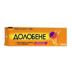 Долобене гель 90г купить в Москве по цене от 638 рублей