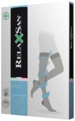 Релаксан чулки на рез. открыт. носоком 22-27мм К2 р.2 телес. (1470S)