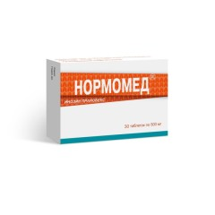 Нормомед таблетки 500мг №30 купить в Москве по цене от 814 рублей