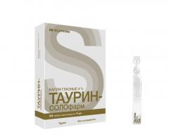 Таурин-СОЛОфарм капли глазные 4% 10мл