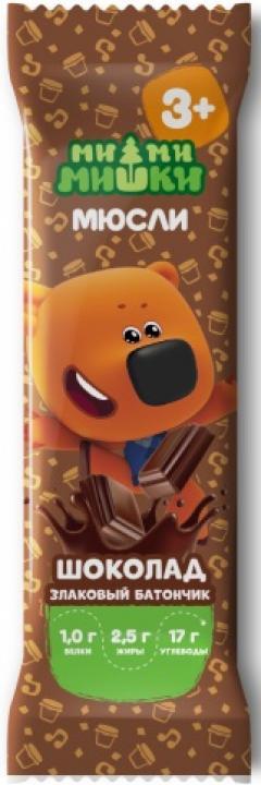 Ми-Ми-Мишки батончик злаковый Шоколад 24г