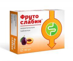 Фрутослабин таблетки 600мг №30