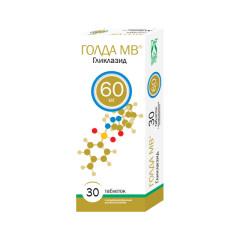 Голда МВ таблетки с модифицированным высвобождением 60мг №30