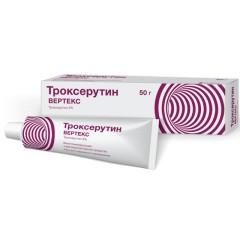 Троксерутин гель 2% 50г