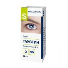 Таустин-СОЛОфарм капли глазные 4% 10мл