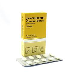 Доксициклин Солюшн Таблетс таблетки дисперг. 100мг №10