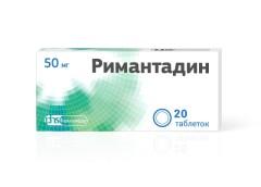 Ремантадин (Римантадин) ФСТ таблетки 50мг №20
