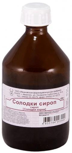 Солодка сироп 100г Иван.ФФ
