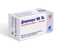 Депренорм ОД таблетки пролонгированные 70мг №60
