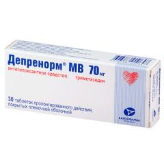 Депренорм ОД таблетки пролонгированные 70мг №30