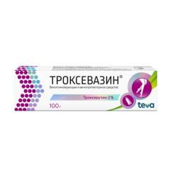 Троксевазин гель 2% 100г