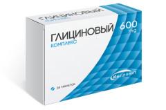 Глициновый комплекс таблетки 600мг №30 Импловит