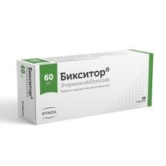 Бикситор таблетки п.о 60мг №30