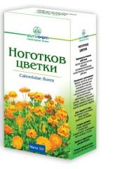Календула цветки (ноготки)  50г Фитофарм