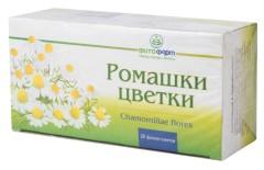 Ромашка аптечная цветки 1,5г пакетик №20 Фитофарм